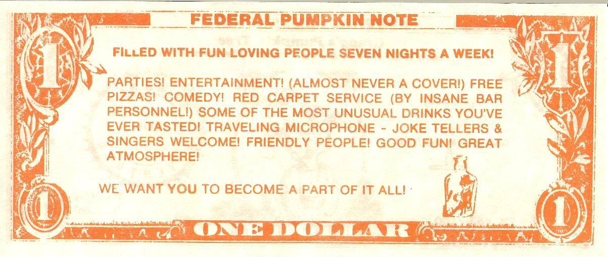 Pumpkin Tree Dollar - Back