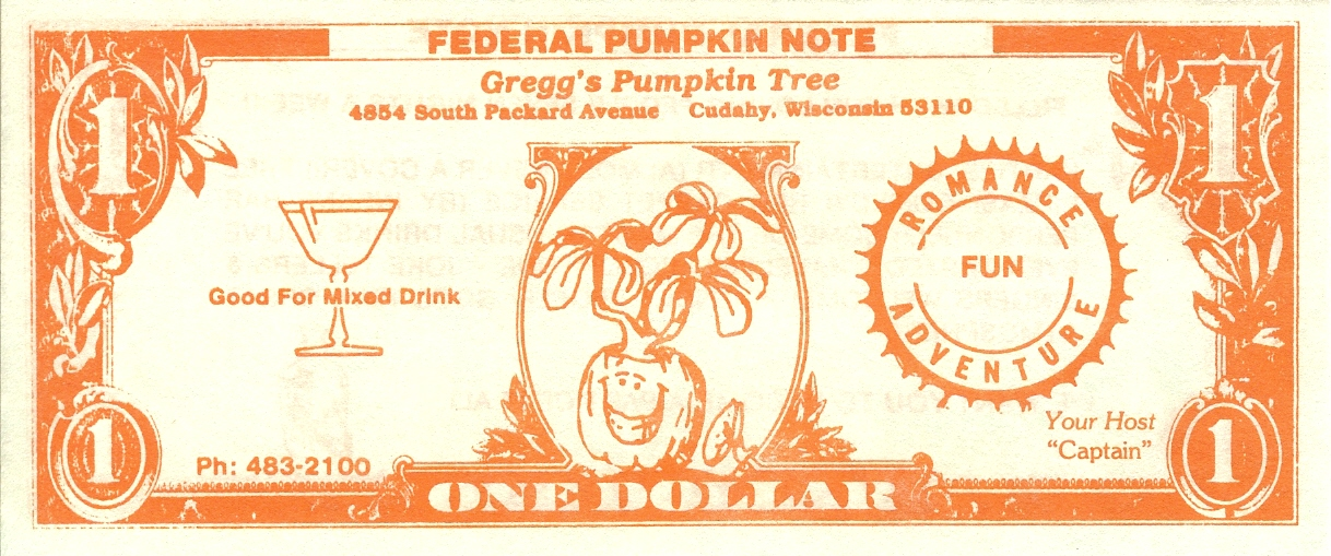 Pumpkin Tree Dollar - Front